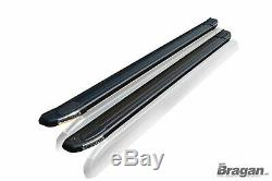 To Fit 2014 2018 Mercedes Sprinter SWB Black Aluminium Side Running Board