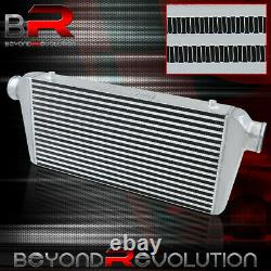 Turbo Supercharger Bar & Plate Intercooler Cooling System 31X11.75X3 For Mustang
