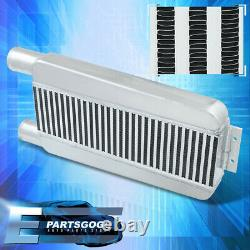 Universal 23X11.25X2.75 Aluminum FMIC Front Mount Same Side Intercooler Turbo
