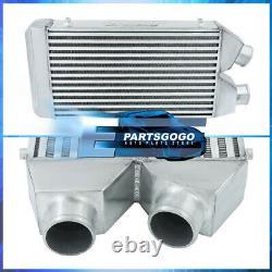 Universal 25X11X2.75 Aluminum Fmic Front Mount Same Side Intercooler Turbo