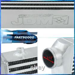 Universal 31x11.75x3 Light Weight Aluminum Front Mount Intercooler Bar Plate