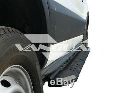 Vanguard 15-18 Ford Transit 150 250 350 Side Step Running Board Set B/k