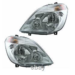 07-13 Sprinter 2500/3500 Van Front Headlight Headlamp Halogen Light Set Paire