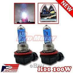 100w V12 H11 5000k Halogène Brouillard Conduite Ampoules Blanc Puissance Gaz Xénon Lampe P5