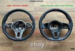 18-21 Mercedes C W205 E W213 Sprinter Base Roue Rouge Bande/fond Plat/amg Look