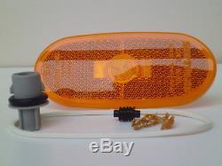 1x Feu De Signalisation Latérale Orange Pour Mercedes Sprinter Vw Crafter (2006-2018) E9