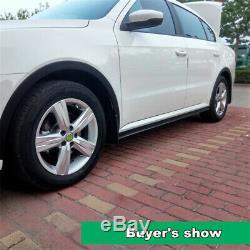 2,2m Évasé 5.2cm Universal Side Car Jupe Anti-collision Bande De Porte Garniture Sill