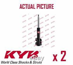 2 X Nouveau Kyb Essieu Avant Amortisseurs Pair Struts Shockers Oe La Qualité 335810