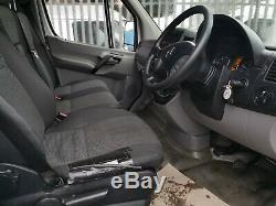 2011 (61) Mercedes Sprinter 313 CDI Lwb Haut Côté Du Toit Fragile En Verre Carrier