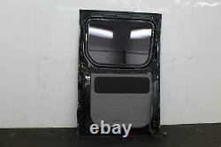 2016 Mercedes Sprinter Van Mb9197 Obsidian Black Côté Gauche Charge Chargement Porte