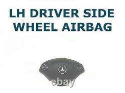 2018-2018 Mercedes-benz Sprinter Gauche Conducteur Côté Roue Airbag Black A9068601500