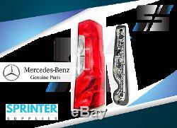 2019 Véritable Mercedes Sprinter Feu Arrière Droite Passager Assemblée Latérale W Socket