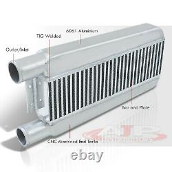 23x11.25x2.75 Diy Universal B & P Same Side Front Mount Turbo Intercooler Fmic