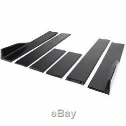 2m Jupes Latérales Panel Extensions Pour Honda Accord CIVIC Coupé / Berline 9e 10e