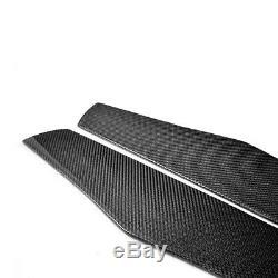 2pcs Jupes Latérales En Fibre De Carbone Pour Audi R8 Tt Lexus Is300 Infiniti G37 215 CM