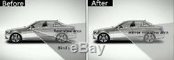 2x Autos 360 ° Grand Angle Convex Vue Arrière Latérale Blind Spot Miroir Pour Universal