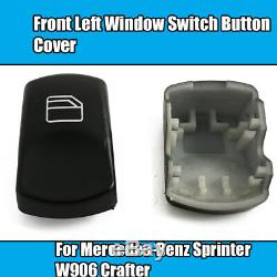 2x Avant Gauche Fenêtre Commutateur Pour Bouton Mercedes Sprinter W906 Crafter Cover