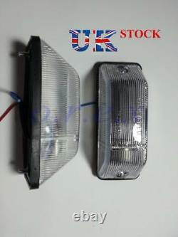2x Indicateur Latéral Marqueur Lumière Blanche Pour Mercedes Sprinter / 403 Bus E1 Marqué