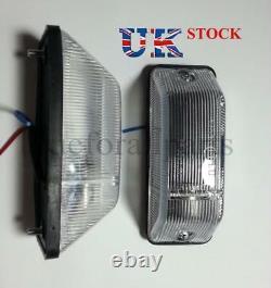 2x White Side Indicator Marker Lights E1 Marqué Pour Mercedes Sprinter / 403 Bus