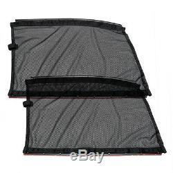 2xuniversal De Fenêtre Latérale De Voiture Rideaux Nouvelle Protection Shade Uv Accessoires