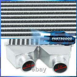 30x11x3 Aluminium Avant Intercooler System Tube Et Fin 2.5 Dual Same Side