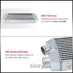 30x11x3 Dual Same Side Fmic Performance Racing Front Mount Intercooler System