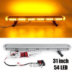 31 '' 54 Led D'urgence Avertissement Strobe Light Bar Traffic Advisor Double Side Lumière