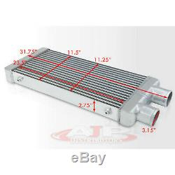 31,75 X 11,5 X 2,75 Même Entrée Côté Sortie Turbo / Super Chargeur Intercooler