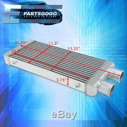31.75x11.5x2.75 Même Côté Lumineux Aluminium Poids Fmic Intercooler Bar & Plaque
