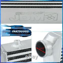 31x11.75x3 Poids Léger En Aluminium Bar Frontale Plate Intercooler Pour Jetta Gti