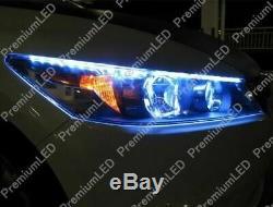 6000k Blanc 12 Côté Glow Audi A5 R8 Style 15-smd Bandes Led Lumières Phares