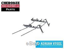 Adrian Steel Ddlr63sph, Double Support D'échelle Pour Toit Haut Mercedes Sprinter
