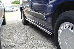 Ajuster 04-14 Swb Mercedes Sprinter Van En Acier Inoxydable Poli Side Bars Tubes