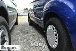 Ajuster 06-14 Swb Mercedes Sprinter Van Bars Side Black Steel Tubes