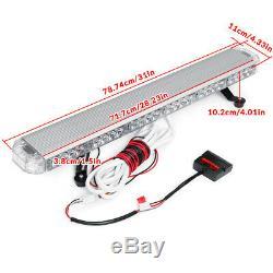 Ambre 54led 31 Traffic Emergency Advisor Double Side Attention Strobe Light Bar