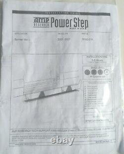 Amp Powerstep Running Board 75163-01a Pour Mercedes 07-17 Sprinter Passenger Side