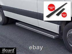 Argent Brossé 6 Iboard Side Step Bar Fit 10-21 Dodge Mercedes-benz Sprinter