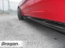 Barres Latérales Noir Pour Mercedes Sprinter Mwb 18+ En Acier Inoxydable Van Steps Boards