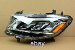 Belle! Complet! 19 20 Mercedes Sprinter Led Headlight Set Paire Lh + Rh Oem
