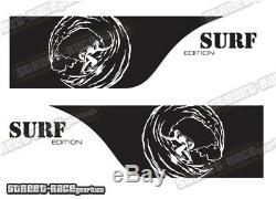 Camper Motorhome Surf Van 052 De Graphiques Côté Vw Crafter Mercedes Sprinter