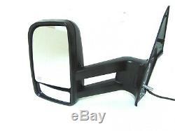 Convient MB Sprinter Vue Latérale Miroir Long Arm Chauffant Électrique Signal Gauche Pilote