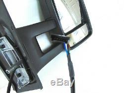 Convient MB Sprinter Vue Latérale Miroir Long Bras Électriques Et Chauffants Signal Droit Passager