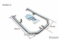 Corner Bar Arrière Pour Mercedes Sprinter 2014 2018 Bar Pare-chocs En Acier Inoxydable Van
