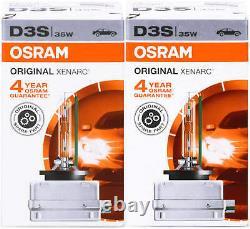 D3s Xenon Osram 66340 Autolampe Brenner Scheinwerfer Lampe Ad Hid Bubs 2 Stück