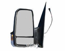 Dodge Sprinter 250 350 Side Mirror Short Arm Power Heated Left Driver 2007-2017