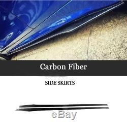 Extension De Jupes Latérales De Fibre De Carbone 2pcs Pour Le Benz W204 W205 W213 W222 W218 205cm