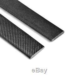 Extension De Jupes Latérales De Fibre De Carbone 2pcs Pour Le Benz W204 W205 W213 W222 W218 215cm