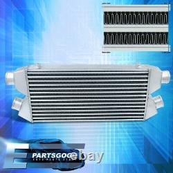 Fcic Dual Core Twin Turbo Intercooler 30x11x3 Débit Élevé 2.5 Entrée Et Sortie