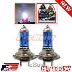 H7 5000k 100w V12 Hyper Blanc Feux De Croisement Halogène Gaz Xénon Phares Ampoules