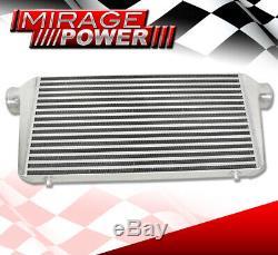 Heavy Duty Universal Bar En Aluminium Plaque Fmic Turbo Intercooler 31 X 11,75 X 3